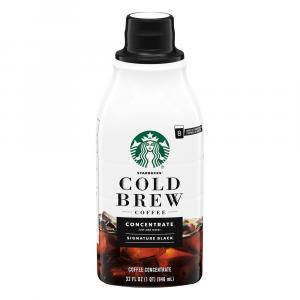 Starbucks Cold Brew Coffee Concentrate Signature Black