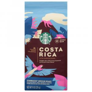 Starbucks Costa Rica Medium Roast Whole Bean Coffee