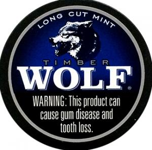 Timber Wolf Fine Cut Mint Chewing Tobacco