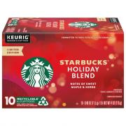 Starbucks Holiday Blend K-Cup