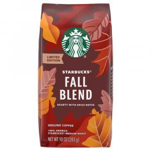 Starbucks Fall Blend 2015 Ground Coffee