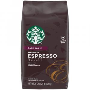 Starbucks Espresso Roast Whole Bean Coffee