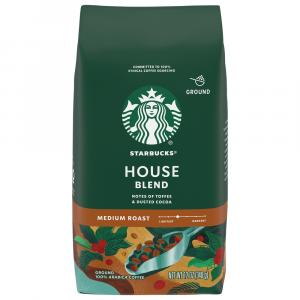 Starbucks House Blend Ground Coffee