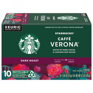 Starbucks Caffe Verona Dark K-Cups