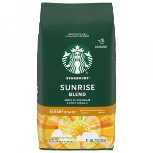 Starbucks Blonde Sunrise Blend Ground Coffee