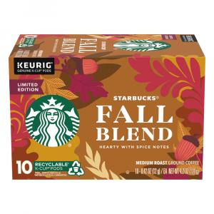 Starbucks Fall Blend K-Cups
