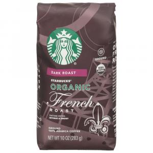 Starbucks Organic French Roast Ground Coffee
