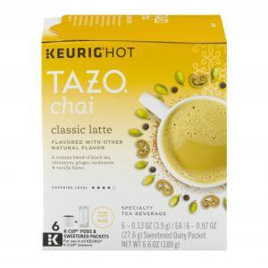 Tazo Chai Classic Latte K-cups