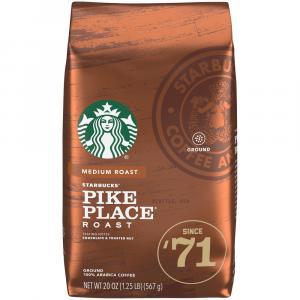 Starbucks Pike Place Medium Roast Coffee