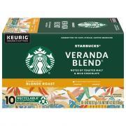 Starbucks K-Cup Blonde Veranda Blend