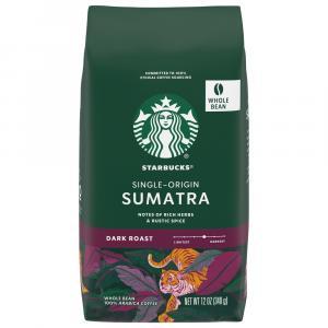 Starbucks Sumatra Whole Bean Coffee