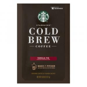 Starbucks Vanilla Fig Cold Brew Coffee