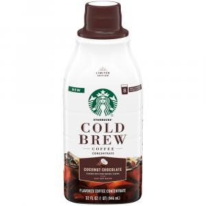 Starbucks Coconut Chocolate Cold Brew Concentrate