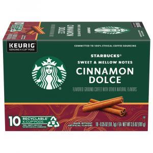 Starbucks Cinnamon Dolce Coffee K-cups
