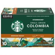 Starbucks Columbia Medium Roast Ground Coffee K-Cups