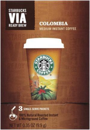 Starbucks Via Ready Brew Colombian Regular
