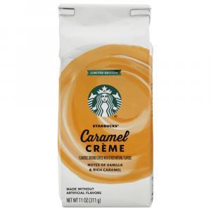 Starbucks Caramel Creme Ground Coffee