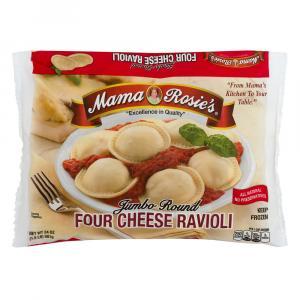 Mama Rosie's Jumbo Round 4 Cheese Ravioli