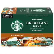 Starbucks Breakfast Blend Coffee K-Cups