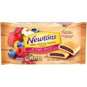 Nabisco Newtons 100% Whole Grain Triple Berry Newtons