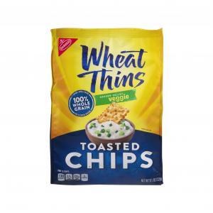 Nabisco Veggie Wheat Thin Chips