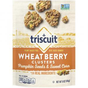 Triscuit Wheatberry Clusters Pumpkin Seeds & Sweet Corn