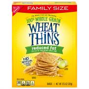 Wheat Thins Reduced Fat Original Family Size