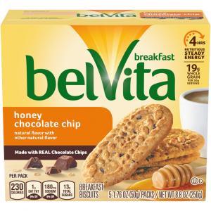 Belvita Breakfast Biscuits Honey Chocolate Chip