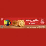 Nabisco Ritz Crackers with Peanut Butter
