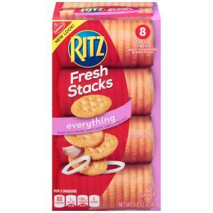 Ritz Everything Fresh Stack Bakes Onion, Poppy Seeds, Garlic