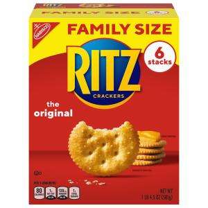 Ritz Crackers Family Size