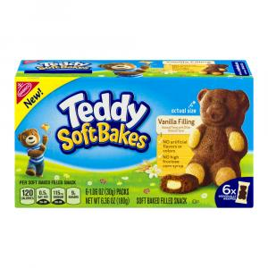 Teddy Soft Bakes with Vanilla Filling