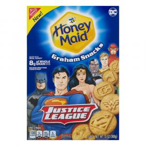 Honey Maid Justice League Graham Crackers