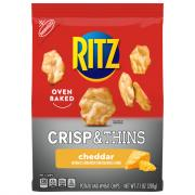 Ritz Crisp & Thins Cheddar Potato and Wheat Chips