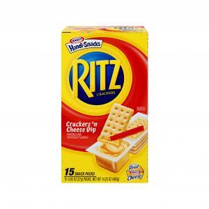 Kraft Handi-snacks Breadsticks & Cheeze Tray Pack