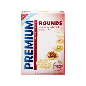 Nabisco Premium Rounds Rosemary & Olive Oil