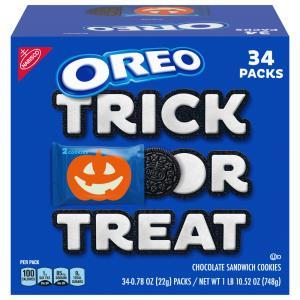 Oreo Sandwich Cookies Boo! Trick or Treat Chocolate