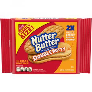 Nabisco Nutter Butter Double Nutty Cookies
