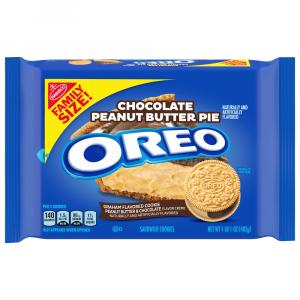 Oreo Family Size Chocolate Peanut Butter Pie
