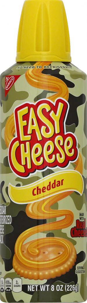 Nabisco Easy Cheese Camo Chedder