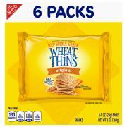 Wheat Thins Original Single Serve Multi Pack