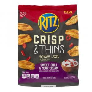 Ritz Crisp & Thins Sweet Chili & Sour Cream