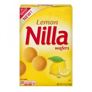 Nabisco Nilla Wafers Lemon