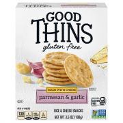 Good Thins Parmesan & Garlic Snack