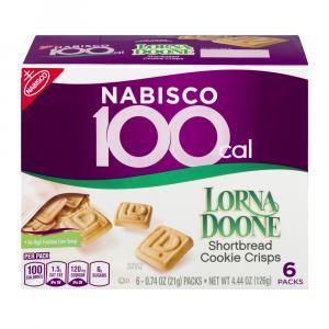 Nabisco 100 Cal Lorna Doone Shortbread Cookie Crisps