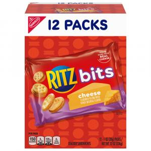 Nabisco Ritz Bitz Cheese Crackers Munch Pack