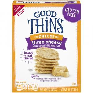 Good Thins Three Cheese Snack