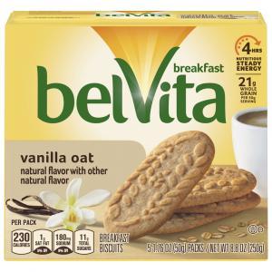 Belvita Vanilla Oat