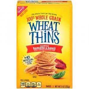 Nabisco Sun Dried Tomato & Basil Wheat Thins