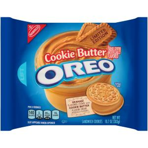 Nabisco Limited Edition Cookie Butter Oreo